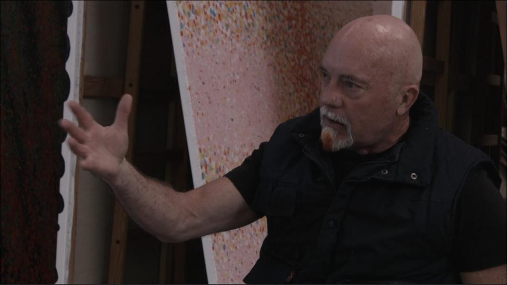 Ferran Garcia Sevilla en un moment de l'entrevista.