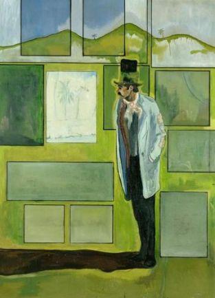 Peter Doig, Metropolitan (House of Pictures), 2004. Oli sobre tela, 275,3 x 200 cm