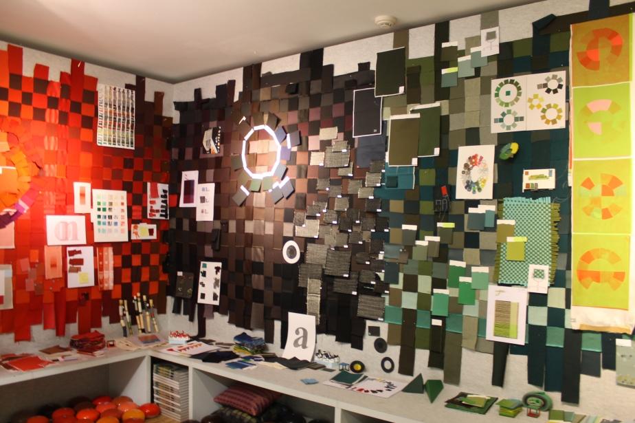Biblioteca de colors i textures de CasaVitra, per Hella Jongerius