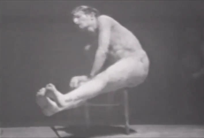 The masseur, hijikata, 1963